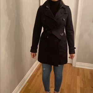 Burberry Prorsum navy Trench coat